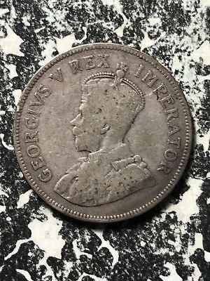 1923 South Africa 2 1/2 Shillings Lot#X1206 Silver!