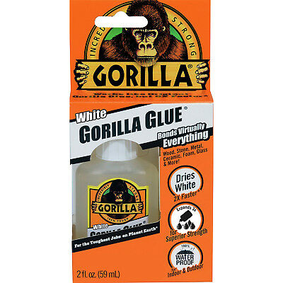 GORILLA - White Gorilla Glue - 2 fl. oz. (59 ml)