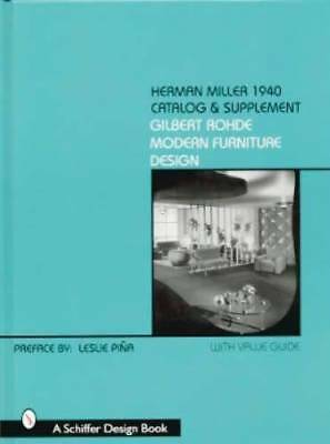 Herman Miller 1940 Catalog & Supplement book