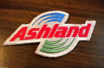 ASHLAND Gas Station Oil Ad Promo Logo Embroidered PATCH Shirt Hat Jacket