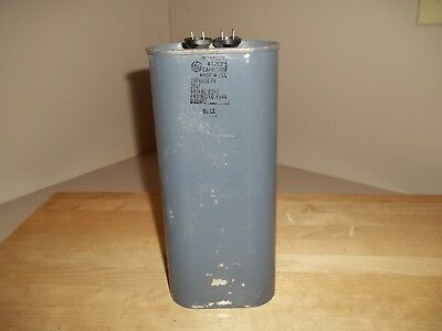 Oil Capacitor GE 26F6636 FA, 30 UF, 660 VAC 60 Hz, No PCB's New Old Stock
