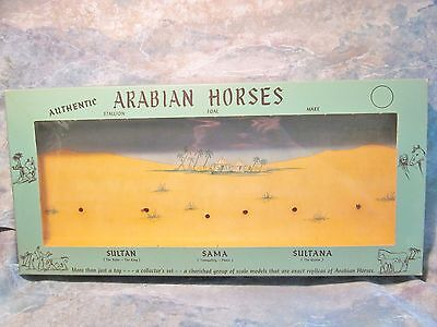 "Original Vintage Box For Hartland 7"" Arabian Horse Family Excellent Condition!"