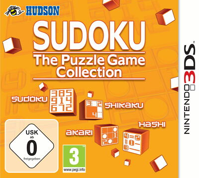 SUDOKU - The Puzzle Game Collection - deutsch - Nintendo 3DS - Neu / OVP
