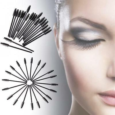 50Pcs/Set Mascara Brushes Wands Lashes Disposable Eyelasher Extension W3LE