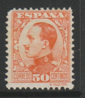 Spain - 1930/31, 50c King Alfonso XIII stamp - M/M - SG 592