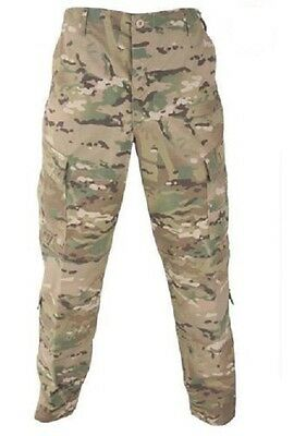 US Army OCP ACU NYCO Military Pants Multicam Camo Trousers XLarge Short