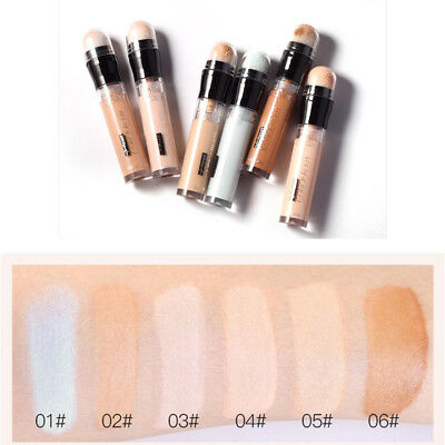Concealer Pen Stick Palette 6 Colors Corrector For Circle Spot Acne Face Makeup