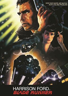 Blade Runner Harrison Ford Cult Classic Poster Art Print A3 Size Gz2153