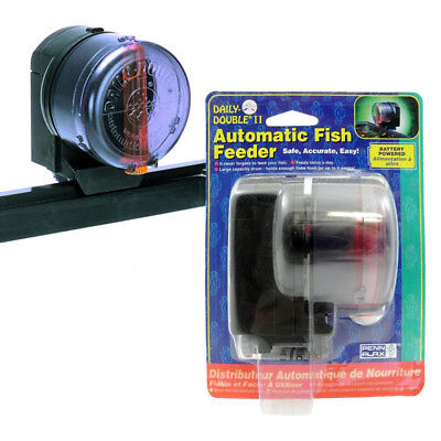 Penn Plax Daily Double II Automatic Fish Feeder