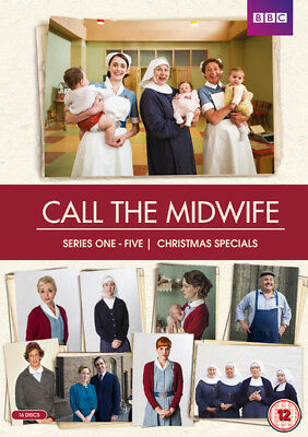 Call the Midwife: Series 1-5 DVD Box Set NEW
