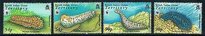 British Indian Ocean Territory 2008 Sea Cucumbers 4v set SG 392/5 MNH