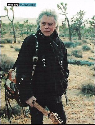 Marty Stuart with Clarence White's Fender Telecaster guitar 8 x 11 pinup