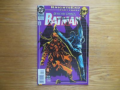 1994 Vintage Batman Detective # 676 Knightsend 48 Pages Signed Scott Hanna, Poa