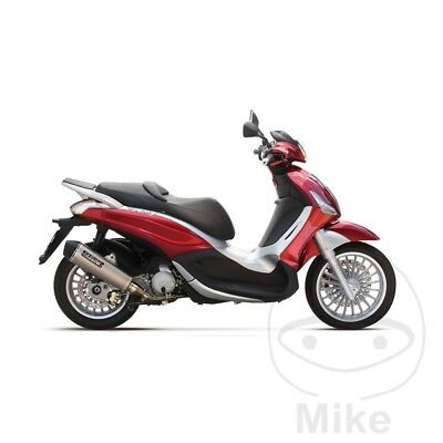 Yasuni Maxiscooter Exhaust Silencer Piaggio Beverly 125 ie 2012