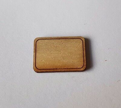 Wooden Chopping bread board board 1:24th scale dolls house kitchen UK SELLER