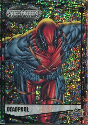 Marvel Vibranium Complete Raw Parallel 90 Card Base Set