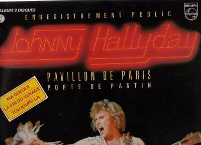 LOT DE 5 LP VINYLES 33 Tours JOHNNY HALLYDAY
