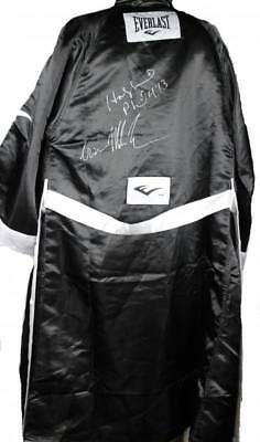 Evander Holyfield & 'Iron' Mike Tyson Authentic Signed Boxing Robe PSA/DNA ITP