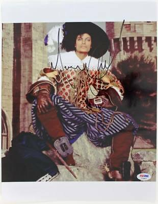 Michael Jackson Signed Authentic 11X14 Photo King Of Pop PSA/DNA #I09847