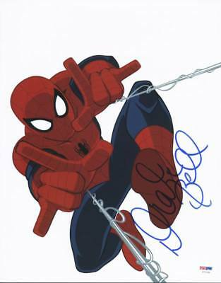 Drake Bell Ultimate Spider-Man Signed Authentic 11X14 Photo PSA/DNA #U72189