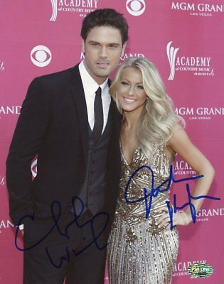 Julianne Hough & Chuck Wicks Dwts Signed Authentic 8X10 Photo PSA/DNA #J36493