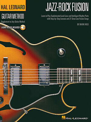 JAZZ-ROCK FUSION GUITAR Lessons Learn 21 Songs Hal Leonard Tab Book Online  Audio