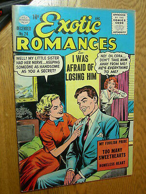 Exotic Romances #24 VG/F GGA He's everything to me