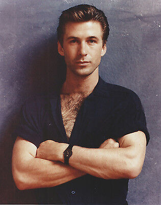 Alec Baldwin 8 X 10 Photo With Ultra Pro Toploader