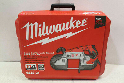 Milwaukee Deep Cut Variable Speed Band Saw Kit 6232-21