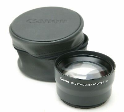 Canon Tele-Converter TC-DC58D 1,4x With 58mm Thread. Made In Japan. Clean.