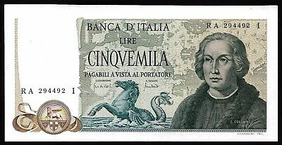 5000 Lire From Italy 1971 MM11 Unc