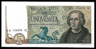 5000 Lire From Italy 1973 MM11