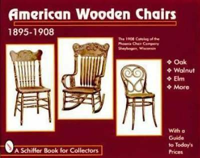 Wood Chair Book 1895-1910 Dining Baby Rocking