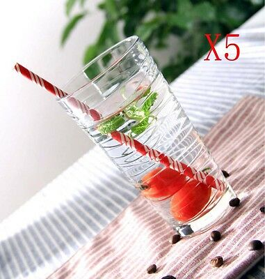 New 5X Capacity 355ML Height 142MM Thread Cocktail Wine Glass/Glassware %