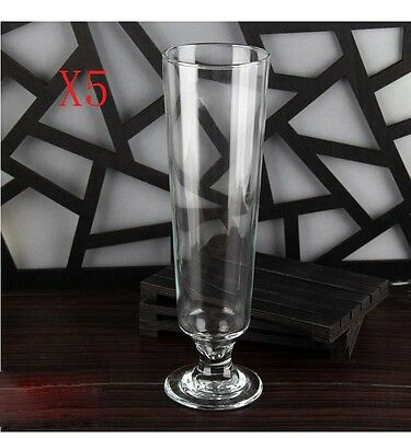 New 5X Capacity 600ML Height 265MM High Body Large Beer Wine Glass/Glassware %