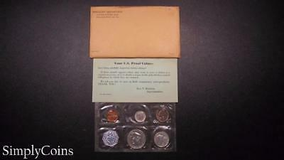 1959 Proof Set ~ Original Envelope With COA ~ US Mint Silver Coin Lot SKU-777