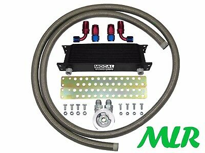 Suzuki Swift Sport 1.6 Vvt S/Steel Braided Hose Oil Cooler Kit Zpmk-3/4Unf