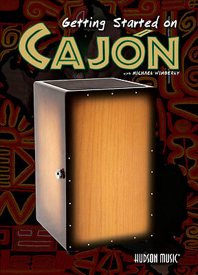 GETTING STARTED ON CAJON DRUM DVD Michael Wimberly LEARN TO PLAY TUITIONAL DVD