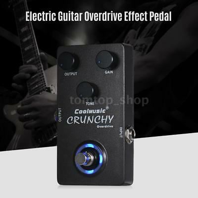 Professional Electric Guitar Overdrive Effect Pedal Analog Circuit Design H2R0