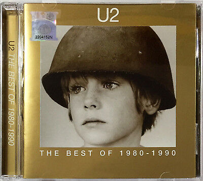 U2 The Best of 1980-1990 1998 MALAYSIA EDITION CD RARE NEW SEALED