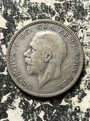 1936 Great Britain 1 Florin Lot#X1051 Silver!