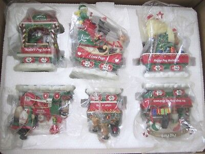 The Danbury Mint The Pug Christmas Express