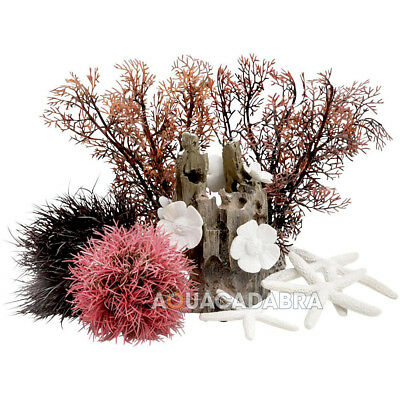 Oase Biorb Decor Red Forest 15L Easy Decor Kit Pink Collections Aquarium Fish