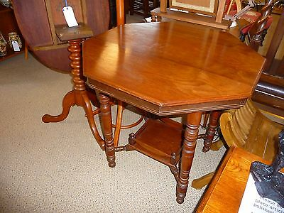 Victorian Octagonal Side Table