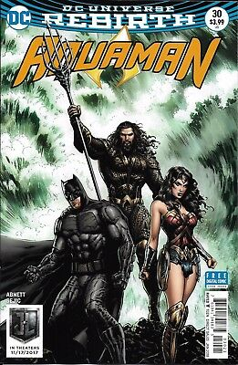 DC Aquaman Universe Rebirth comic issue 30 Limited variant