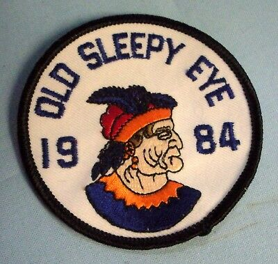 Old Sleepy Eye Patch 1984 . Collectors Club