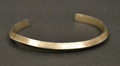 Vintage Native American Old Pawn Sterling Silver Cuff Bracelet
