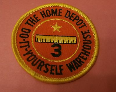 The Home Depot 3 Year Service Award New Patch
