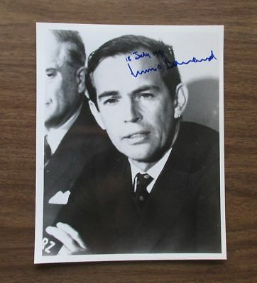 CHRISTIAAN BARNARD signed 8x10 glossy photo (dated: July 18, 1991)