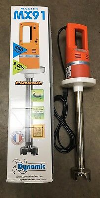 Dynamic - MX91 - 16 in Large Mixer Hand Held Stick Mixer - Immersion Blender